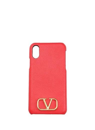 Valentino Garavani iPhone XS Aksesuar Kırmızı